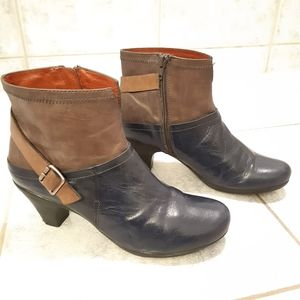 Hispanitas leather boots made in spain size 38